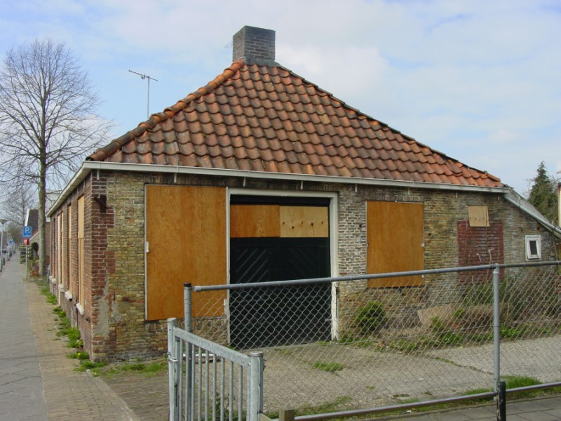 De smederij in Ureterp in 2004